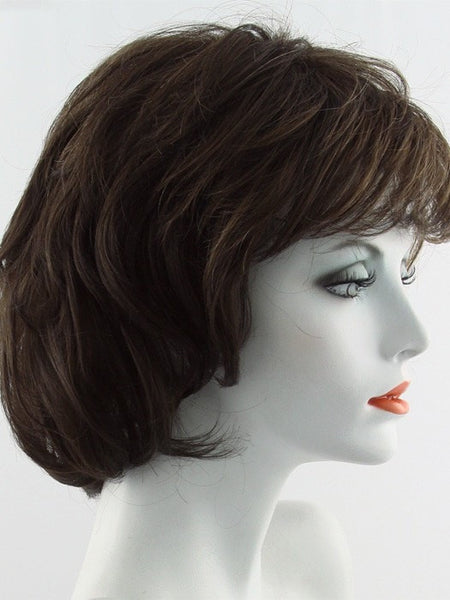 SALSA LARGE-Women's Wigs-RAQUEL WELCH-R9S GLAZED MAHOGANY-SIN CITY WIGS