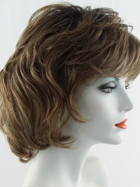 SALSA LARGE-Women's Wigs-RAQUEL WELCH-SS11/29 SHADED NUTMEG-SIN CITY WIGS