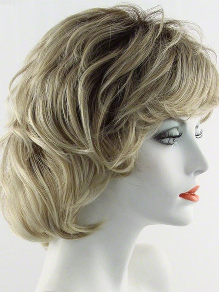 SALSA LARGE-Women's Wigs-RAQUEL WELCH-SS14/88 SHADED GOLDEN WHEAT-SIN CITY WIGS