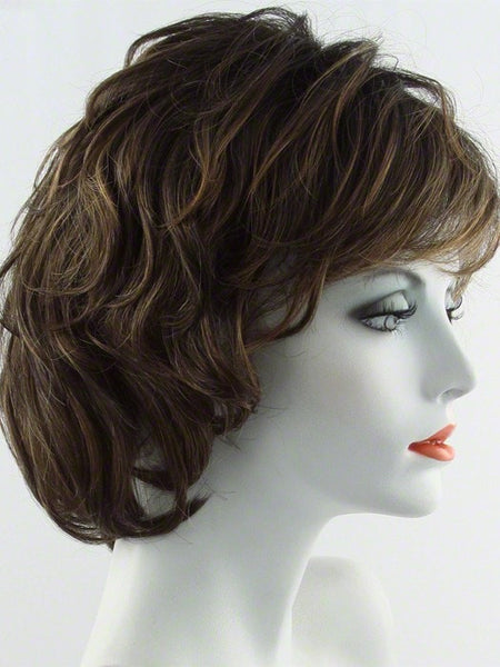 SALSA LARGE-Women's Wigs-RAQUEL WELCH-SS8/29 SHADED HAZELNUT-SIN CITY WIGS