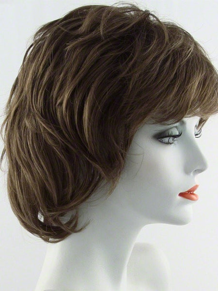SALSA-Women's Wigs-RAQUEL WELCH-R12T PECAN BROWN-SIN CITY WIGS