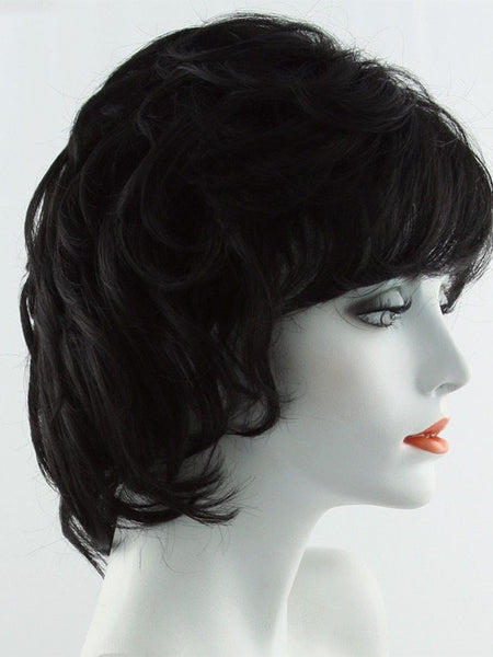 SALSA-Women's Wigs-RAQUEL WELCH-R2 EBONY | Black-SIN CITY WIGS