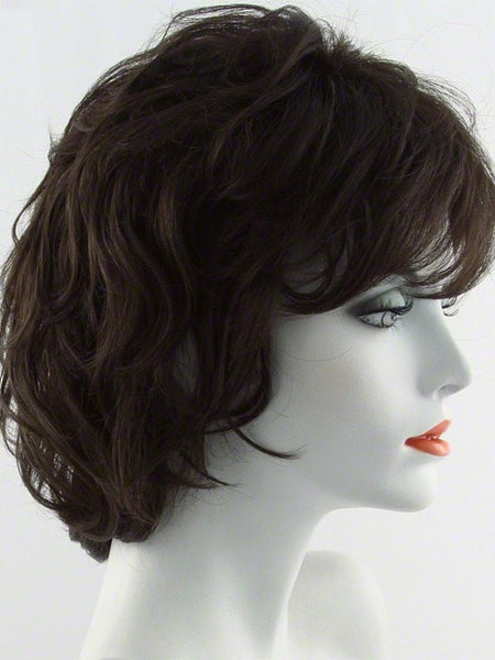 SALSA-Women's Wigs-RAQUEL WELCH-R6 DARK CHOCOLATE | Rich Medium Dark Brown-SIN CITY WIGS