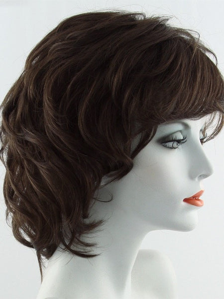 SALSA-Women's Wigs-RAQUEL WELCH-R8 DARK CINNAMON | Rich Medium Brown-SIN CITY WIGS