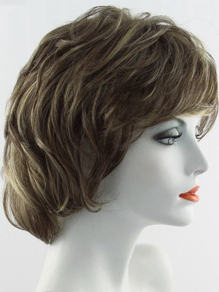 SALSA-Women's Wigs-RAQUEL WELCH-R8/25 GOLDEN WALNUT-SIN CITY WIGS