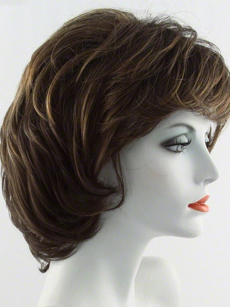 SALSA-Women's Wigs-RAQUEL WELCH-R829S GLAZED HAZELNUT-SIN CITY WIGS