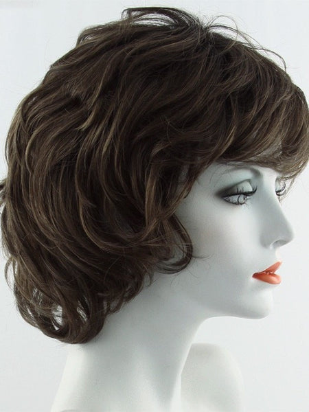 SALSA-Women's Wigs-RAQUEL WELCH-SS10 SHADED CHESTNUT-SIN CITY WIGS