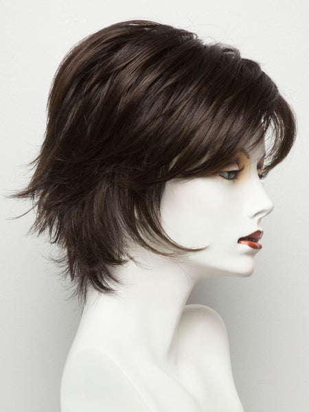 SKY LARGE-Women's Wigs-NORIKO-DARK CHOCOLATE-SIN CITY WIGS