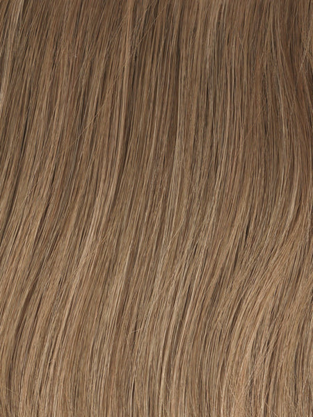 SOFT AND SUBTLE PETITE/AVERAGE-Women's Wigs-GABOR WIGS-GL12-14 Mocha-SIN CITY WIGS