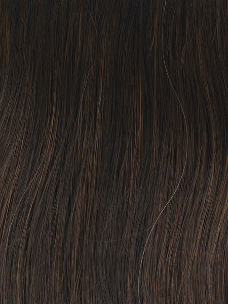 SOFT AND SUBTLE PETITE/AVERAGE-Women's Wigs-GABOR WIGS-GL4-8 Dark Chocolate-SIN CITY WIGS