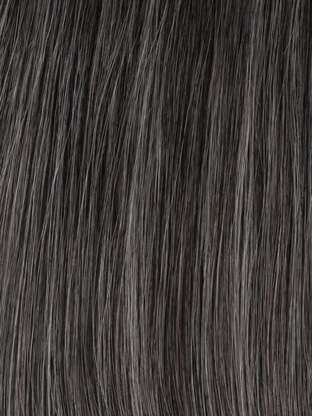 SOFT AND SUBTLE PETITE/AVERAGE-Women's Wigs-GABOR WIGS-GL44-51 Sugared Charcoal-SIN CITY WIGS