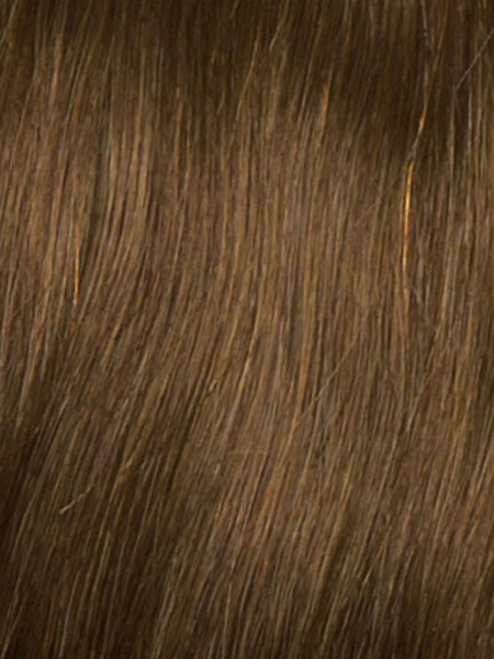 SPECIAL EFFECT *Human Hairpiece*-Women's Top Pieces/Toppers-RAQUEL WELCH-R5HH Light Reddish Brown-SIN CITY WIGS