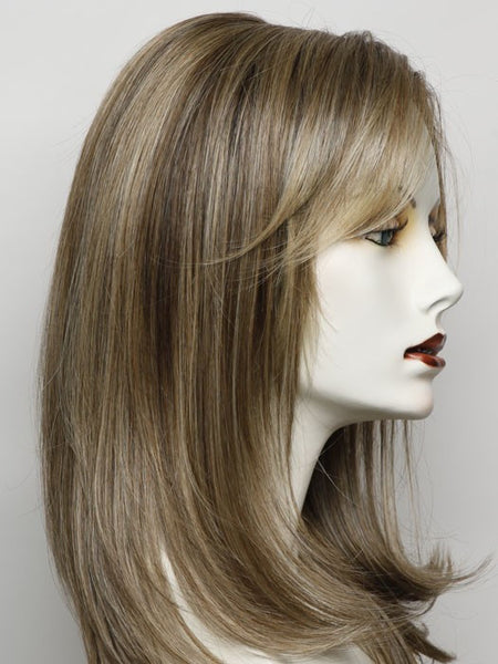 SPOTLIGHT ELITE-Women's Wigs-RAQUEL WELCH-RL12/22SS SHADED CAPPUCCINO-SIN CITY WIGS