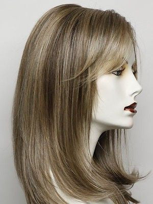 SPOTLIGHT-Women's Wigs-RAQUEL WELCH-RL12/22SS SHADED CAPPUCCINO-SIN CITY WIGS