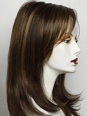 SPOTLIGHT-Women's Wigs-RAQUEL WELCH-RL8/29SS SHADED HAZELNUT-SIN CITY WIGS