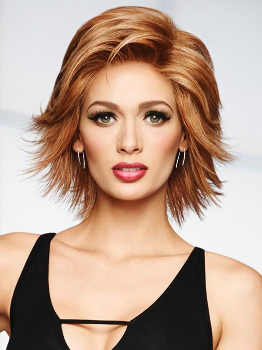 STUNNER *Human Hair Wig*-Women's Wigs-RAQUEL WELCH-R4HH Chestnut Brown-SIN CITY WIGS