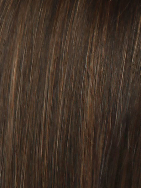 THE ART OF CHIC *Human Hair Wig*-Women's Wigs-RAQUEL WELCH-R6/30H CHOCOLATE COPPER-SIN CITY WIGS