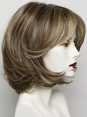 UPSTAGE-Women's Wigs-RAQUEL WELCH-RL12/22SS SHADED CAPPUCCINO-SIN CITY WIGS