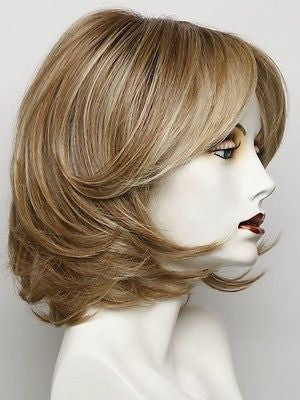 UPSTAGE-Women's Wigs-RAQUEL WELCH-RL14/22SS SHADED WHEAT-SIN CITY WIGS