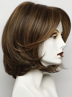 UPSTAGE-Women's Wigs-RAQUEL WELCH-RL5/27 GINGER BROWN-SIN CITY WIGS