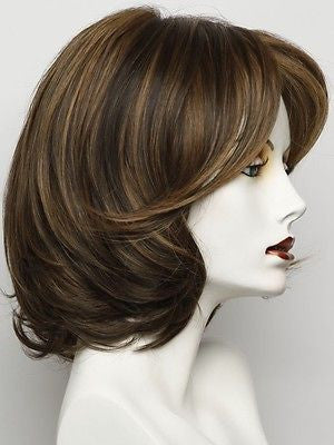 UPSTAGE-Women's Wigs-RAQUEL WELCH-RL6/28 BRONZED SABLE-SIN CITY WIGS