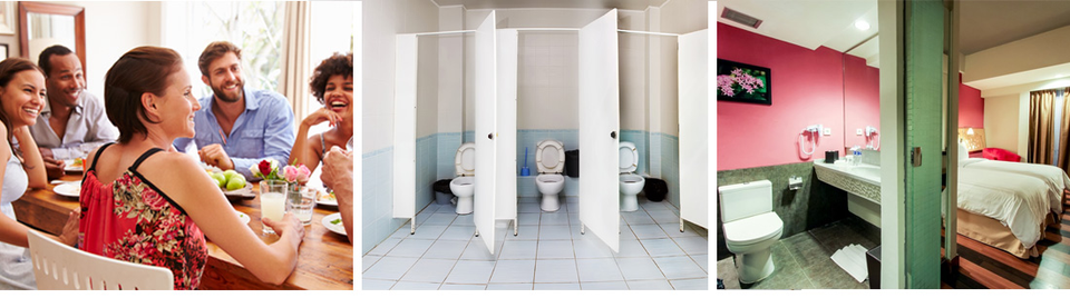 Use Toilies® to avoid bathroom odor shame…