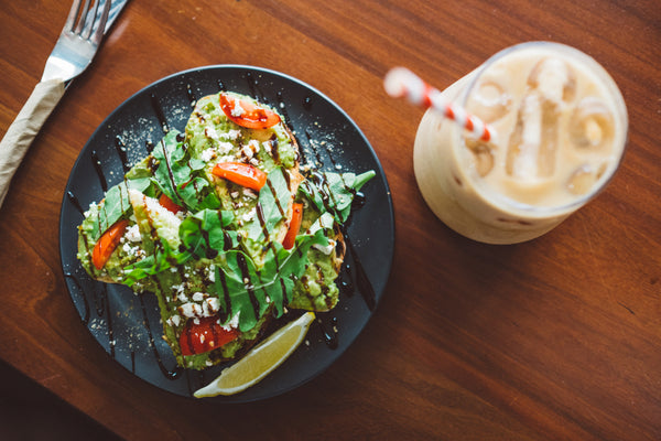 Capulet & Co Smashed Avo and Coffee