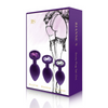 Rianne S Booty Plug Set Purple