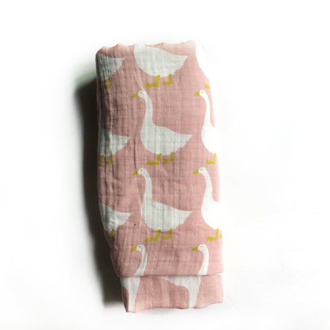 Duckies Muslin Swaddle