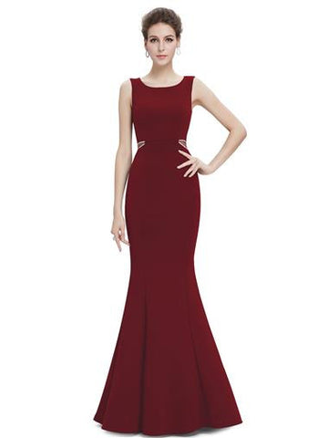 Red, Burgundy, Cranberry Bridesmaid, Evening, Dresses