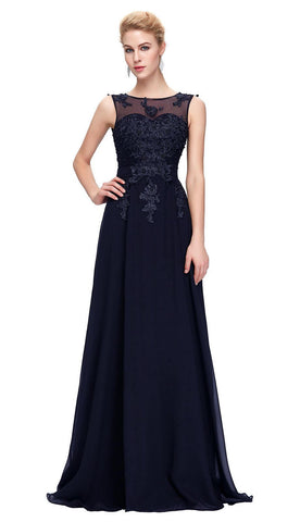 ADELE - Navy Blue - Belle Boutique UK