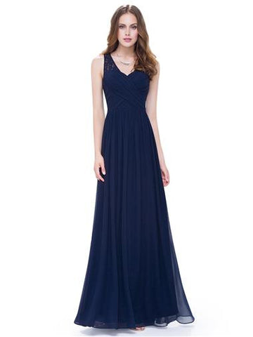 ALLISON  - Navy Blue - Belle Boutique UK