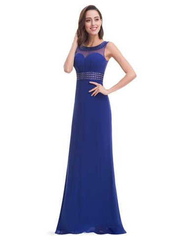 ALLURE  - Sapphire Blue - Belle Boutique UK