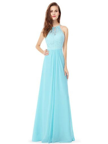 AMY Dress - Aqua Blue - Belle Boutique UK