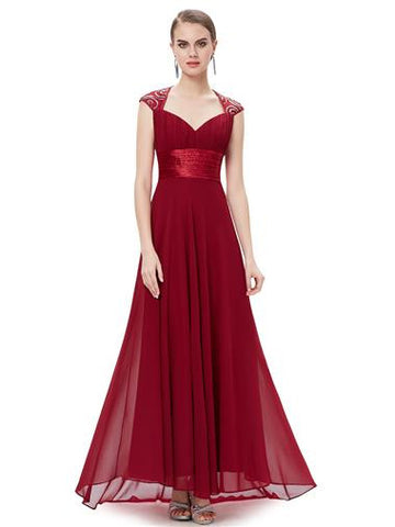 APHRODITE  - Burgundy Wine - Belle Boutique UK