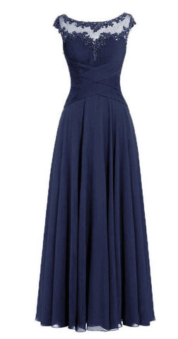 BEAU - Navy Blue - Belle Boutique UK