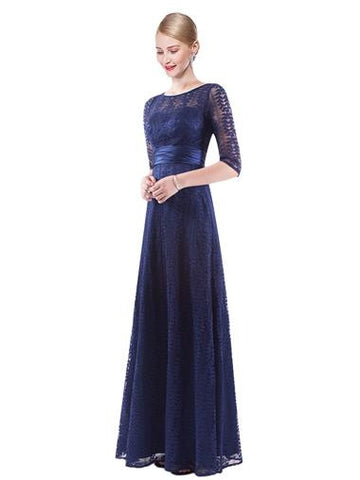 BOBBIE - Navy Blue - Belle Boutique UK