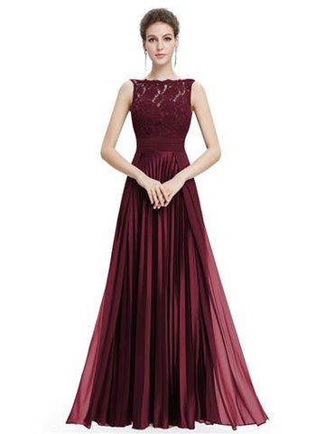 BRIGITTE - Burgundy - Belle Boutique UK