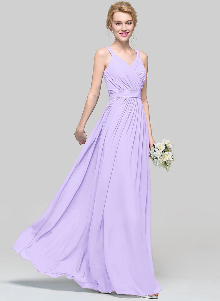 DARCY Lilac Sorbet Long Bridesmaid Wedding Evening Prom Dress UK ...