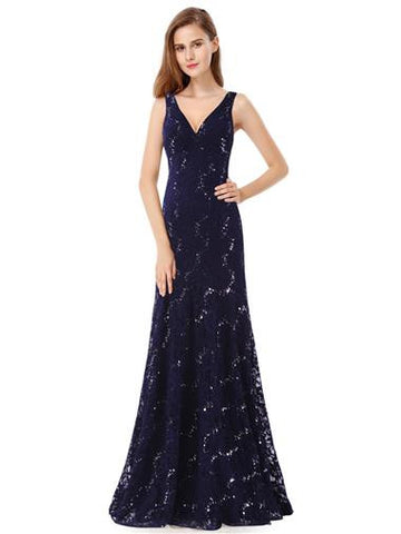 DONNA  - Navy Blue - Belle Boutique UK