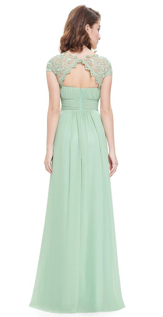 Katie Sage Green Bridesmaid Formal Occasion Dress Belle Boutique Uk