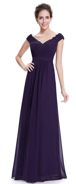 LORI  - Purple - Belle Boutique UK
