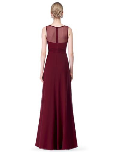 PAULA - Burgundy Wine - Belle Boutique UK