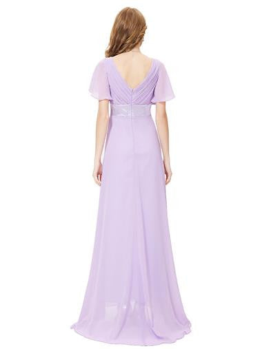 RITA Maxi Dress - Lilac - Belle Boutique UK