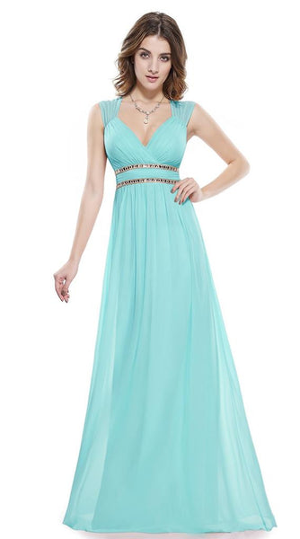ROSIE - Aqua Turquoise Dress - Belle Boutique UK