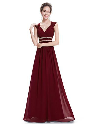 ROSIE  - Burgundy Wine - Belle Boutique UK
