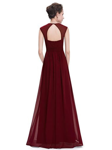 ROSIE Dress - Burgundy Wine - Belle Boutique UK