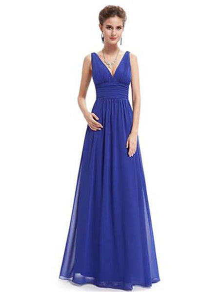 SOPHIE Dress - Royal Blue - Belle Boutique UK