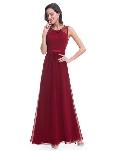 WILLOW  - Burgundy Wine - Belle Boutique UK