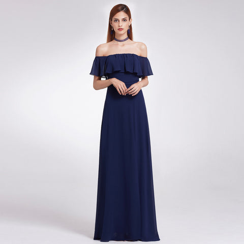 EMMA - Navy Blue - Belle Boutique UK